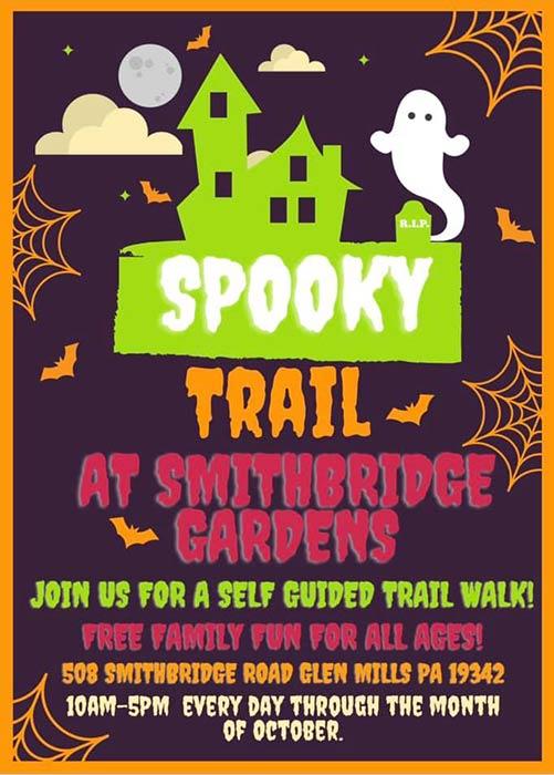 Smithbridge Gardens Spooky Trail